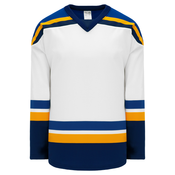 Athletic Knit (AK) H550B 2014 St. Louis Blues White Hockey Jersey