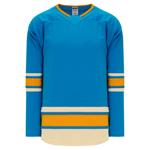 Athletic Knit (AK) H550BY-STL557B New Youth 2016 St. Louis Blues Winter Classic Blue Hockey Jersey