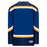 Athletic Knit (AK) H550B-STL648B 1998 St. Louis Blues Royal Blue Hockey Jersey