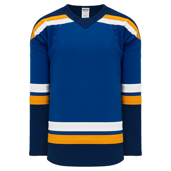 Athletic Knit (AK) H550BA-STL857B Adult 2017 St. Louis Blues Royal Blue Hockey Jersey