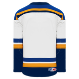 Athletic Knit (AK) H550BA-STL858B Adult 2017 St. Louis Blues White Hockey Jersey