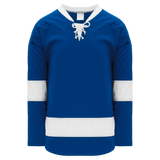 Athletic Knit (AK) H550B-TAM488B 2011 Tampa Bay Lightning Royal Blue Hockey Jersey