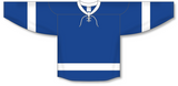 Athletic Knit (AK) H550B 2011 Tampa Bay Lightning Royal Blue Hockey Jersey - PSH Sports