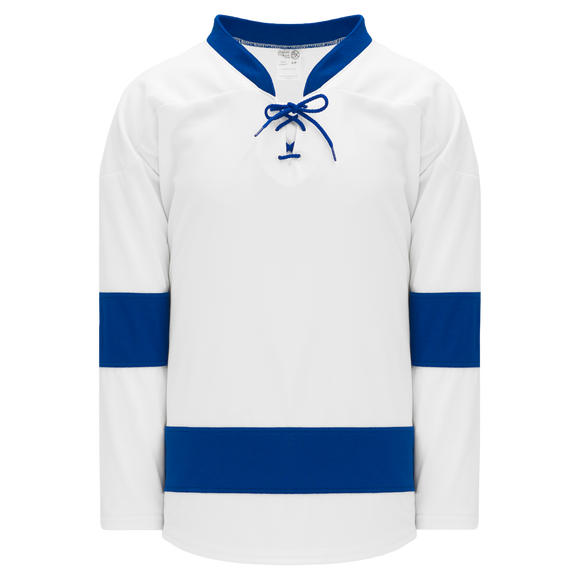 Athletic Knit (AK) H550B-TAM489B 2011 Tampa Bay Lightning White Hockey Jersey