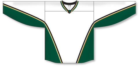 Image of Athletic Knit (AK) H550B New Texas Stars White Hockey Jersey - PSH Sports