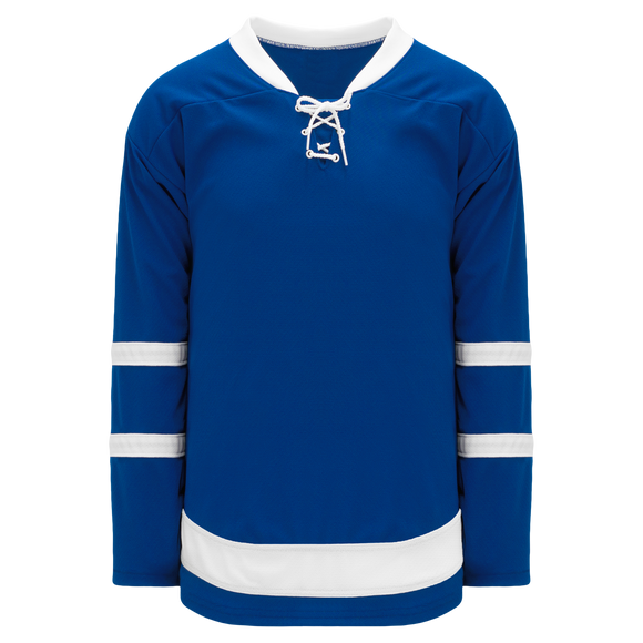 Athletic Knit (AK) H550B-TOR204B 2016 Toronto Maple Leafs Royal Blue Hockey Jersey