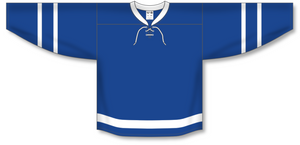 Athletic Knit (AK) H550B 2016 Toronto Maple Leafs Royal Blue Hockey Jersey - PSH Sports
