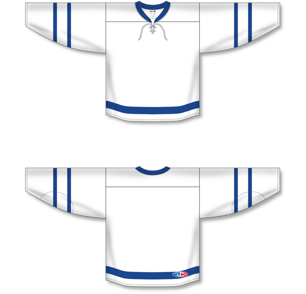 Athletic Knit (AK) H550B 2016 Toronto Maple Leafs White Hockey Jersey - PSH Sports