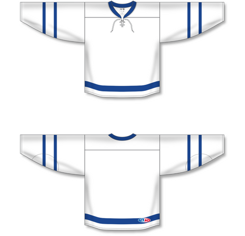 Image of Athletic Knit (AK) H550B 2016 Toronto Maple Leafs White Hockey Jersey - PSH Sports