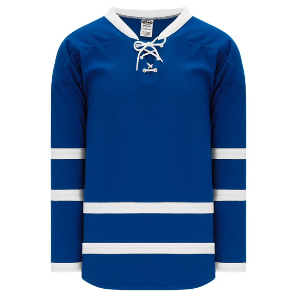 Athletic Knit (AK) H550BA-TOR518B New Adult 2011 Toronto Maple Leafs Royal Blue Hockey Jersey