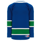 Athletic Knit (AK) H550BA-VAN378B Adult 2017 Vancouver Canucks Royal Blue Hockey Jersey