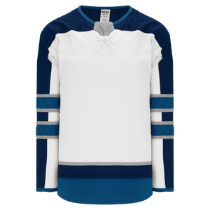 Athletic Knit (AK) H550B-WIN725B 2017 Winnipeg Jets White Hockey Jersey