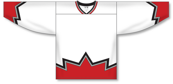 Athletic Knit (AK) H550C Sublimated Ottawa 67's White Hockey Jersey - PSH Sports