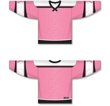 Athletic Knit (AK) H550C Sublimated Breast Cancer Awareness Pink Hockey Jersey - PSH Sports