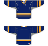 Athletic Knit (AK) H550C 2009 Buffalo Sabres Third Navy Hockey Jersey - PSH Sports