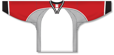 Image of Athletic Knit (AK) H550C 1998 Team Canada White Hockey Jersey - PSH Sports
