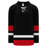 Athletic Knit (AK) H550C-CAN680C 2002 Team Canada Black Hockey Jersey