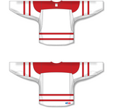 Athletic Knit (AK) H550C 2010 Team Canada White Hockey Jersey - PSH Sports