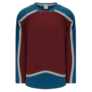Athletic Knit (AK) H550CA-COL784C Adult 2017 Colorado Avalanche Cardinal Red Hockey Jersey