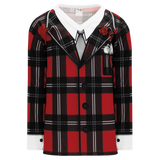 "Athletic Knit (AK) H550C-DON798C Sublimated The ""Don"" Red Hockey Jersey"