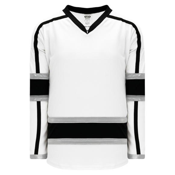 Athletic Knit (AK) H550CA-LAS950C 2010 Adult Los Angeles Kings Third White Hockey Jersey