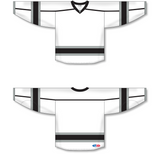 Athletic Knit (AK) H550C 2010 Los Angeles Kings Third White Hockey Jersey - PSH Sports