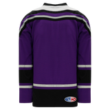Athletic Knit (AK) H550CA-LAS953C New Adult Los Angeles Kings Third Purple Hockey Jersey
