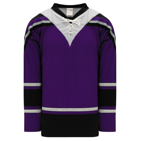 Athletic Knit (AK) H550C-LAS953C New Los Angeles Kings Third Purple Hockey Jersey