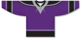 Athletic Knit (AK) H550C New Los Angeles Kings Third Purple Hockey Jersey - PSH Sports