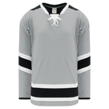 Athletic Knit (AK) H550CA-LAS954C Adult Los Angeles Kings Stadium Series Grey Hockey Jersey