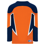 Athletic Knit (AK) H550CA-NYI372C (New) Adult New York Islanders Third Orange Hockey Jersey