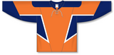 Athletic Knit (AK) H550C (New) New York Islanders Third Orange Hockey Jersey - PSH Sports