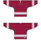 Athletic Knit (AK) H550C New Phoenix Coyotes AV Red Hockey Jersey - PSH Sports