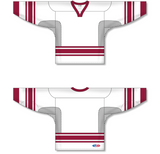 Athletic Knit (AK) H550C New Phoenix Coyotes White Hockey Jersey - PSH Sports