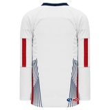 Athletic Knit (AK) H550C-USA831C 2006 Team USA White Hockey Jersey