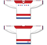 Athletic Knit (AK) H550C Sublimated 2015 Washington Capitals Third Red Hockey Jersey - PSH Sports
