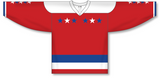 Athletic Knit (AK) H550C Sublimated 2011 Washington Capitals Winter Classic White Hockey Jersey - PSH Sports