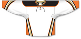Athletic Knit (AK) H550D 2014 Anaheim Ducks White Hockey Jersey - PSH Sports