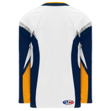 Athletic Knit (AK) H550D-BUF801D 2008 Buffalo Sabres White Hockey Jersey