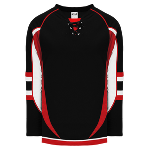 Athletic Knit (AK) H550D-OTT936D 2009 Ottawa Senators Third Black Hockey Jersey