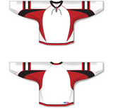Athletic Knit (AK) H550D 2009 Ottawa Senators Third White Hockey Jersey - PSH Sports