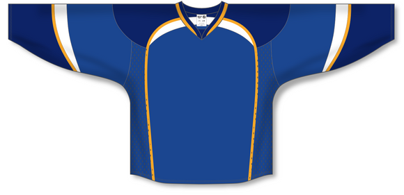 Athletic Knit (AK) H550D 2011 St. Louis Blues Royal Blue Hockey Jersey - PSH Sports
