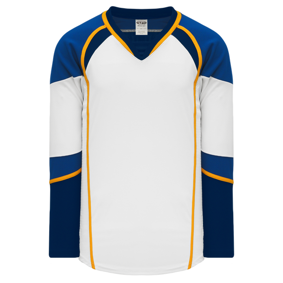 Athletic Knit (AK) H550DA-STL847D 2011 Adult St. Louis Blues White Hockey Jersey