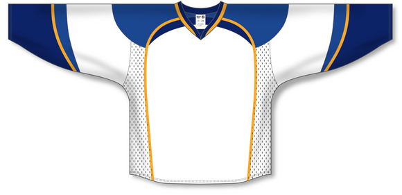 Athletic Knit (AK) H550D 2011 St. Louis Blues White Hockey Jersey - PSH Sports