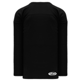 Athletic Knit (AK) H6000Y-001 Youth Black Practice Hockey Jersey