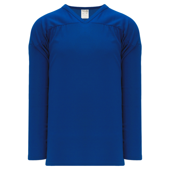 Athletic Knit (AK) H6000A-002 Adult Royal Blue Practice Hockey Jersey