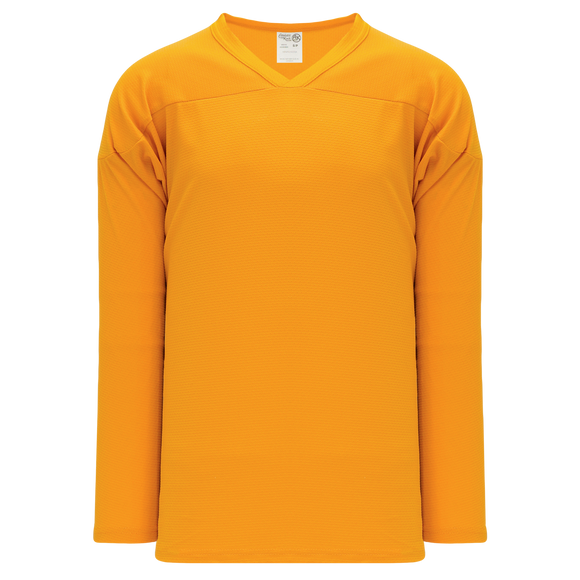 Athletic Knit (AK) H6000A-006 Adult Gold Practice Hockey Jersey