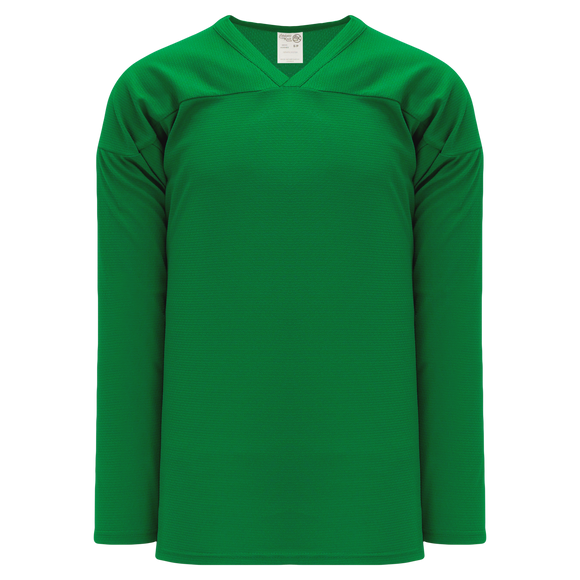 Athletic Knit (AK) H6000A-007 Adult Kelly Green Practice Hockey Jersey