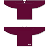 Athletic Knit (AK) H6000 Maroon Practice Hockey Jersey - PSH Sports
