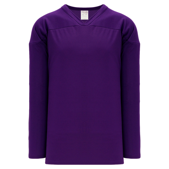 Athletic Knit (AK) H6000A-010 Adult Purple Practice Hockey Jersey